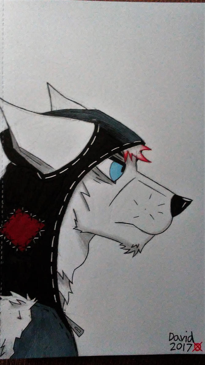 Ash headshot by SlenderDave666