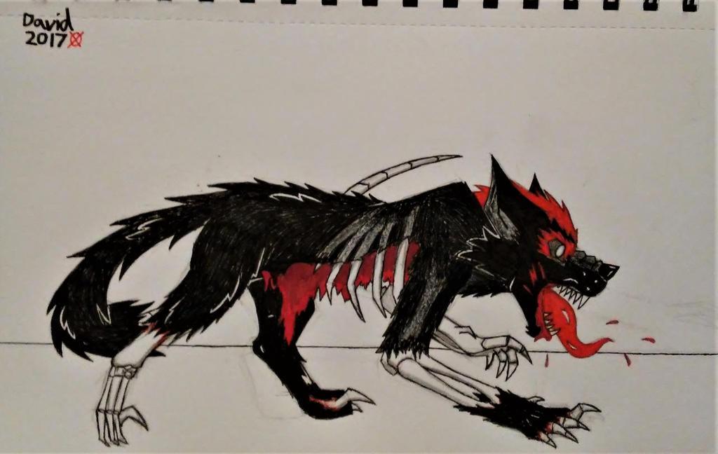 A bloodthirsty beast by SlenderDave666