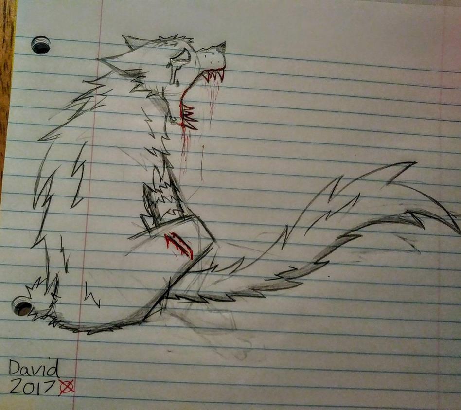 Random gore sketch by SlenderDave666