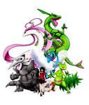 POKEMON EMERALD - My Team