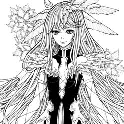 GUILTY CROWN - Ouma Mana (INK) by mickytaka558