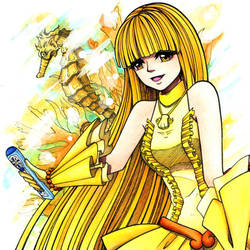 MERMAID MELODY PICHI PICHI PITCH - Coco (COLOR) by mickytaka558
