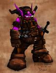 Rune: Dwarf Engineer concept
