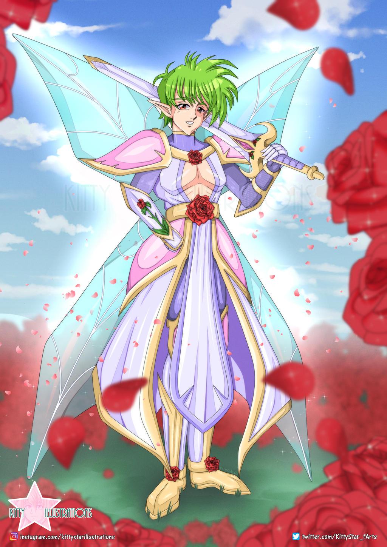Rose Warrior
