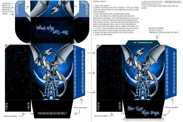Deckbox Blue Eyes White Dragon By Teramaster On Deviantart