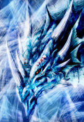 Frost Dragon by TeraMaster