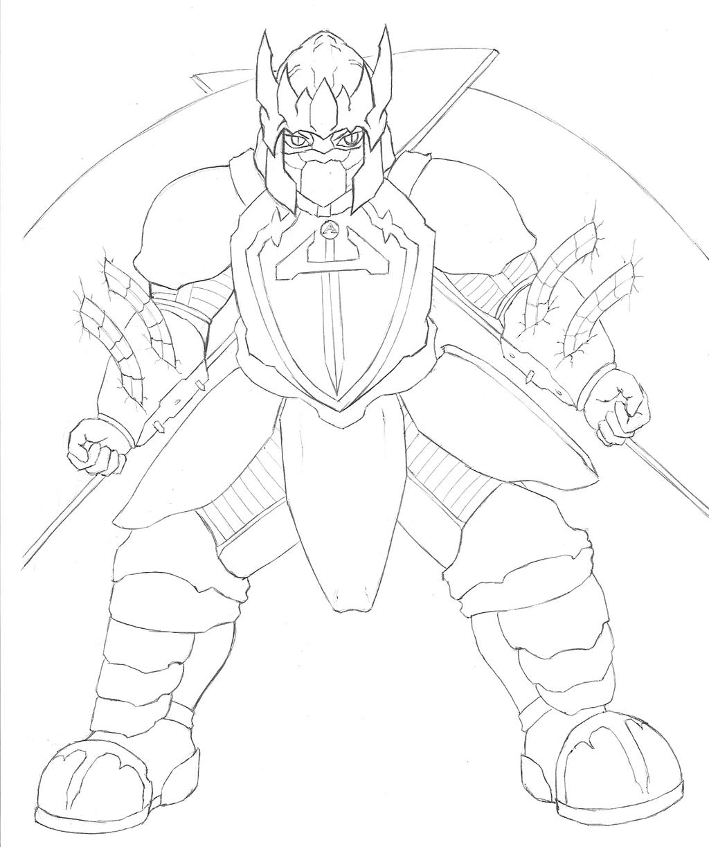 aegis vanguard sketch 2 by teramaster on deviantart