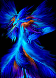 Blue Flame by TeraMaster