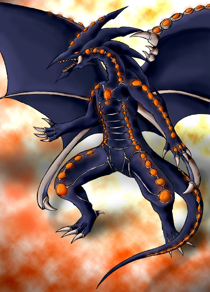 Gandora, Dragon of Destruction by TeraMaster on DeviantArt