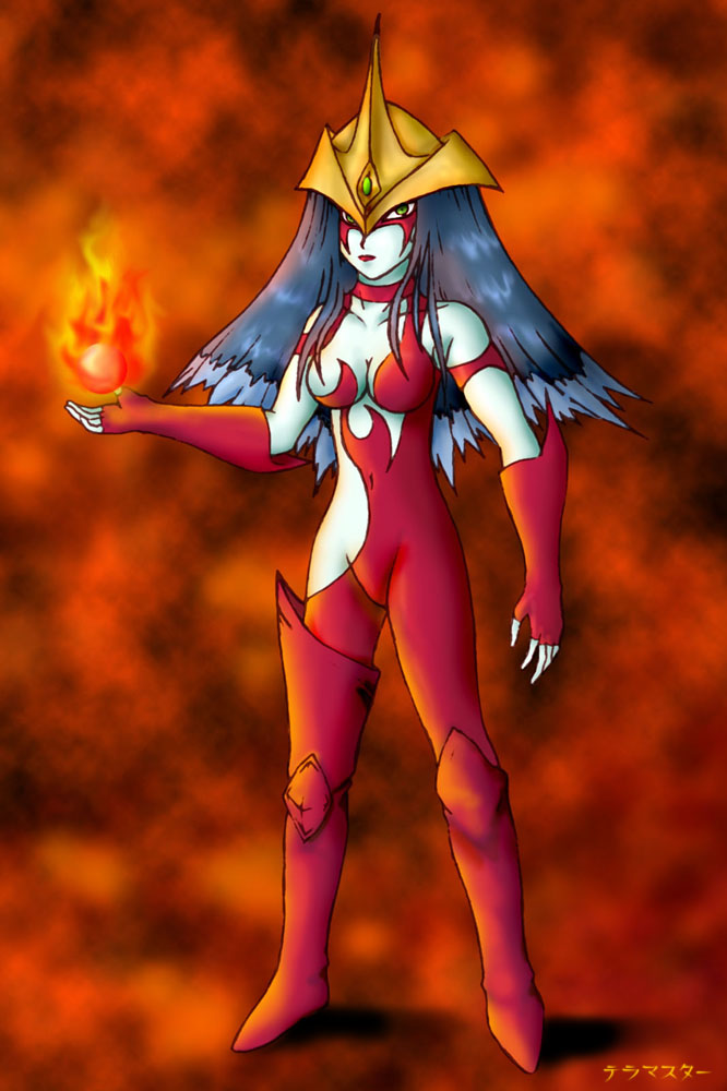 Elemental Hero Burstinatrix by TeraMaster