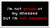 not proud, not ashamed by tokengoth