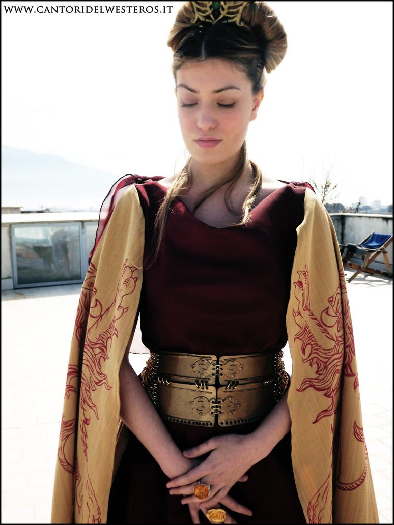Cersei Lannister Costume 3 by CantoriDelWesteros