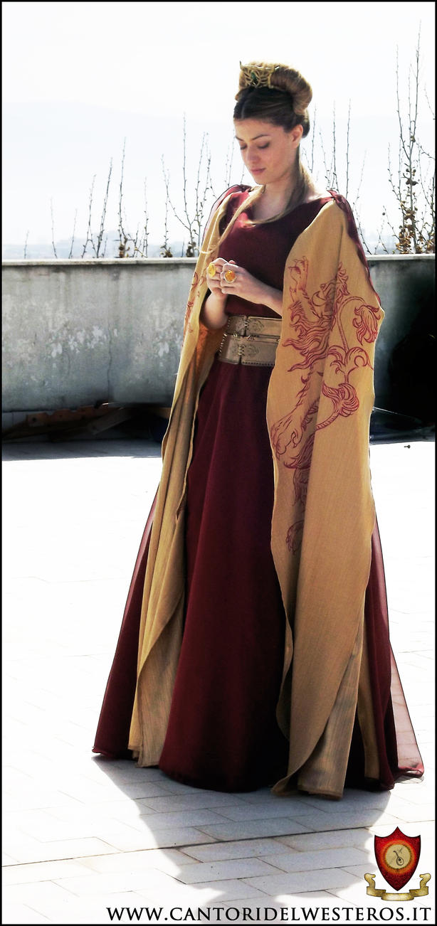Cersei Lannister Costume 9 by CantoriDelWesteros