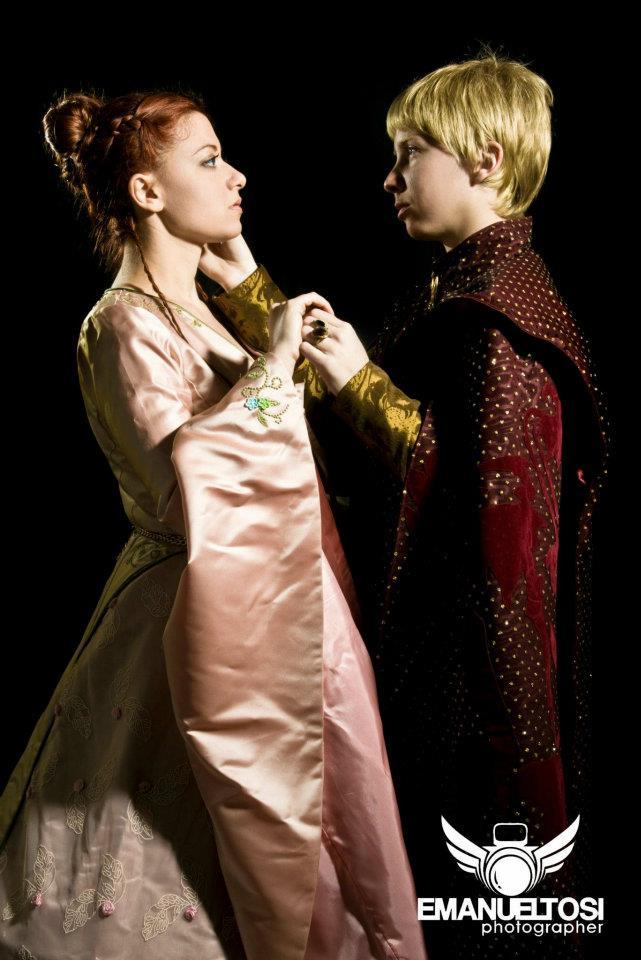 Sansa Stark  and Joffrey Baratheon Cosplay by CantoriDelWesteros