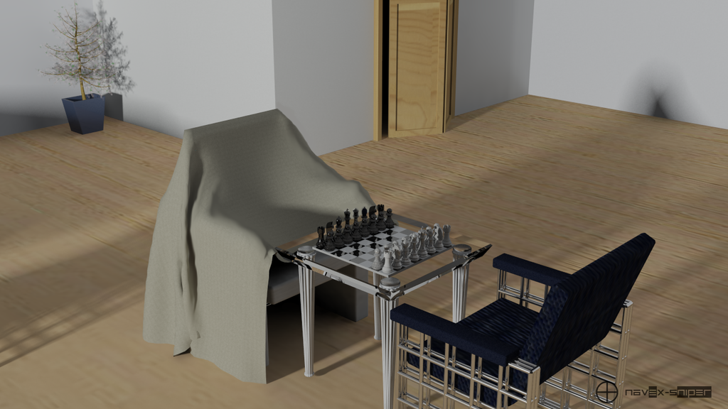 Chess Table Room