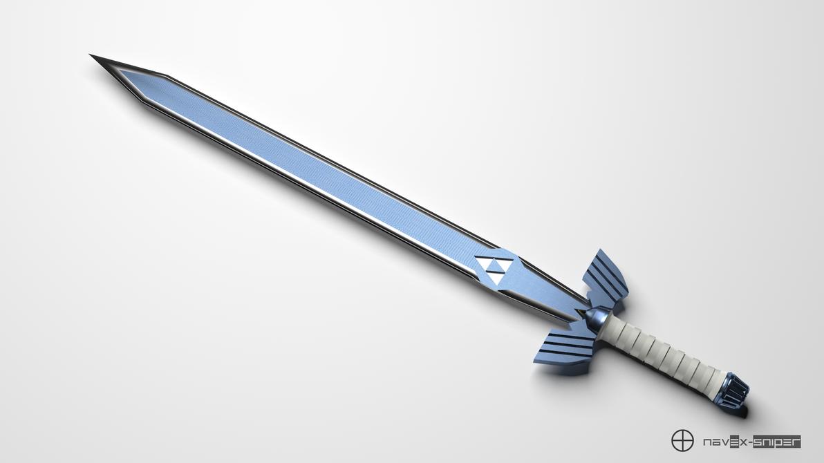 Legend of Zelda - Master Sword by NAVeX-Sniper
