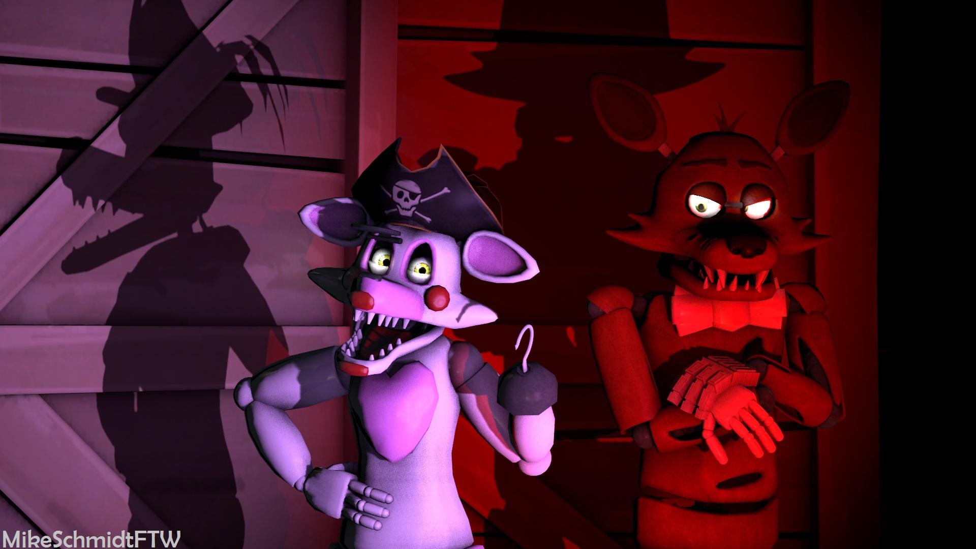 Mangle the pirate vixen by officerschmidtftw on deviantart