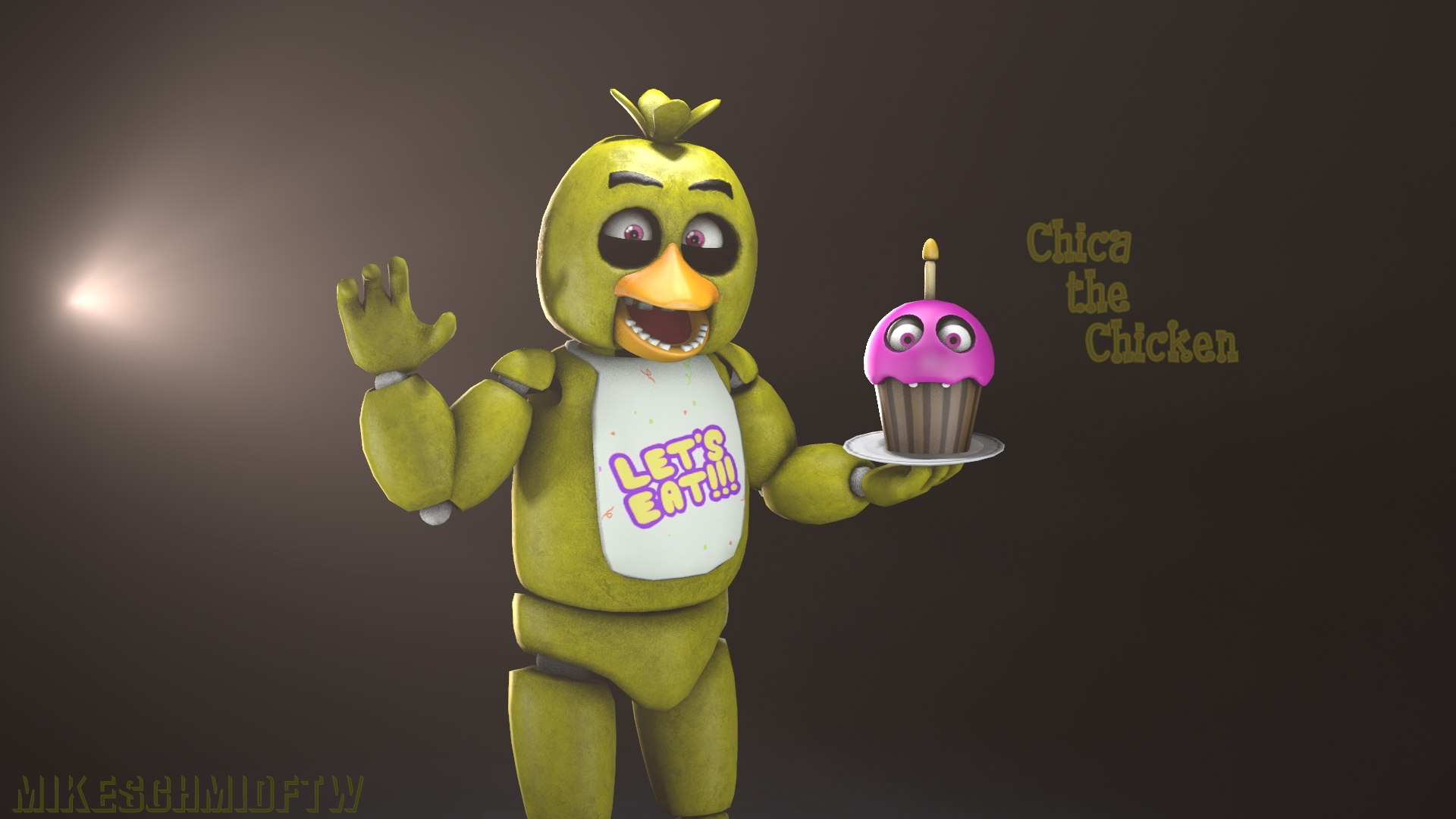 art toy chica wallpaper - photo #41