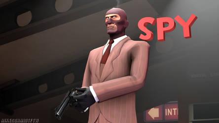 RED Spy (Wallpaper) by OfficerSchmidtFTW