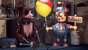 Have a Balloon- Balloon Boy by OfficerSchmidtFTW