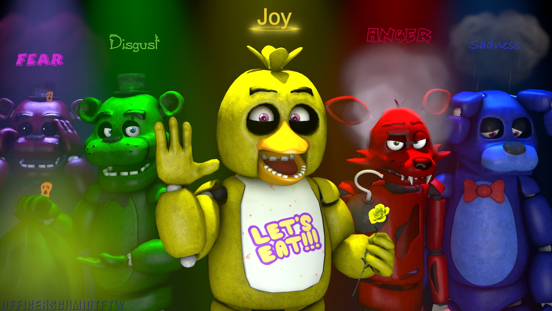 Smile Toys And Joys : Emotions sfm by officerschmidtftw on deviantart