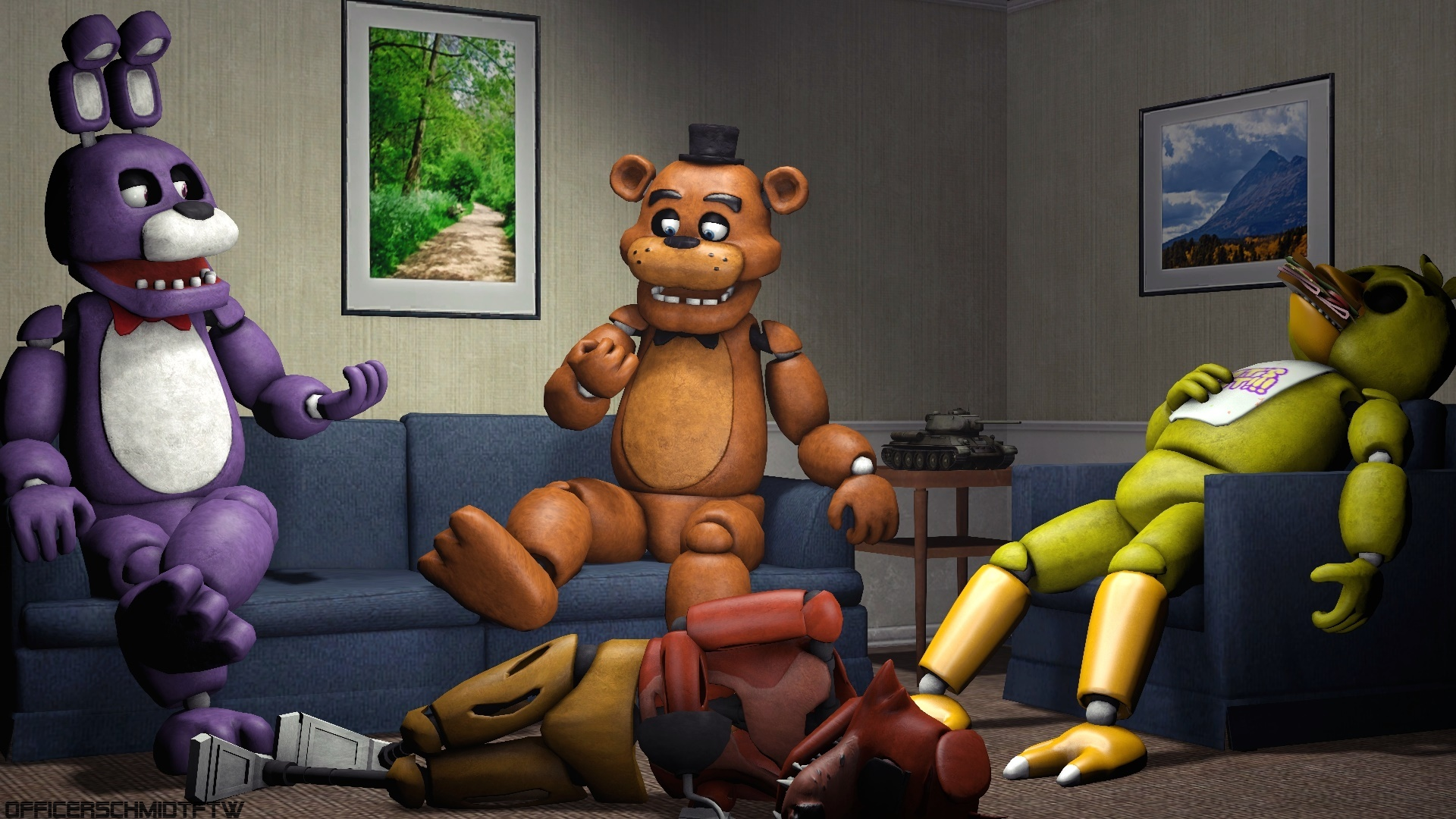 Quality Time With Friends Sfm By Officerschmidtftw On -5985