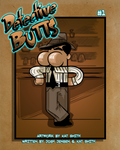 Detective Butts Mock Cover