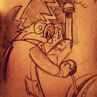 The Nefarious Dr. Stimpy