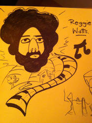 Reggie Watts by Miss-Interocitor