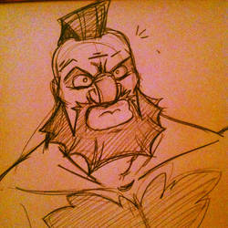 Zangief by Miss-Interocitor