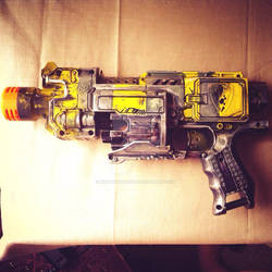 Fallout 3 weaponry (Nerf Barricade)