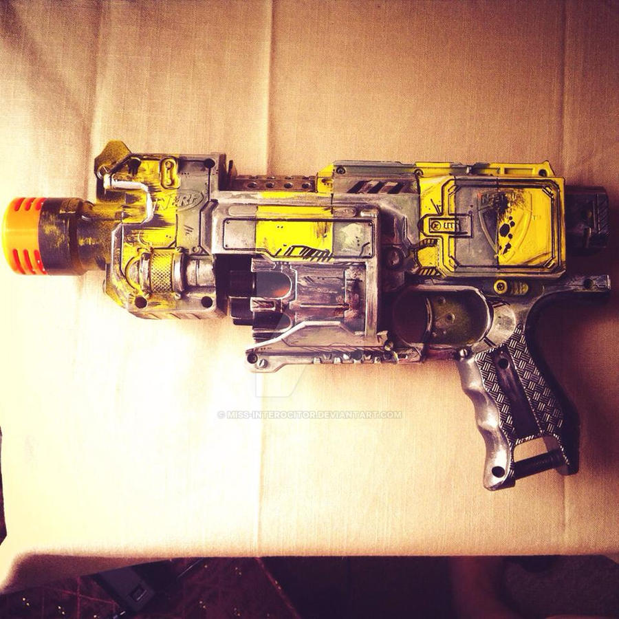 Fallout 3 weaponry (Nerf Barricade) by Miss-Interocitor