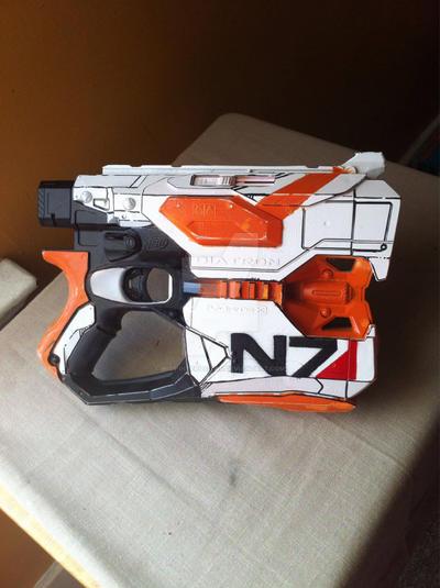 Mass Effect Nerf Diatron by Miss-Interocitor
