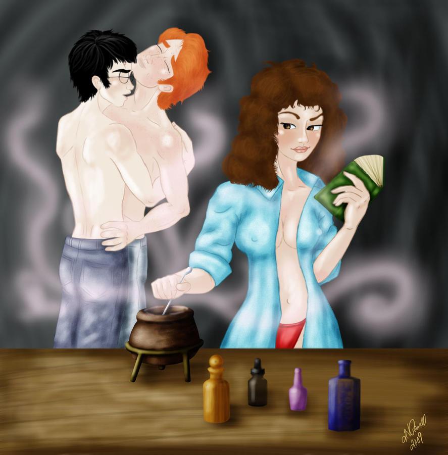 Stir up some fun by Harry-x-Ron