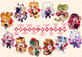 Chinese Zodiac Auction (closed)
