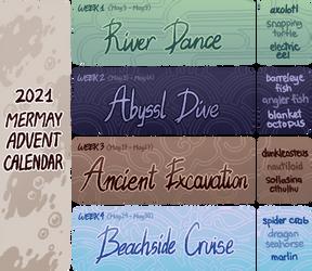 2021 Mermay Advent Calendar