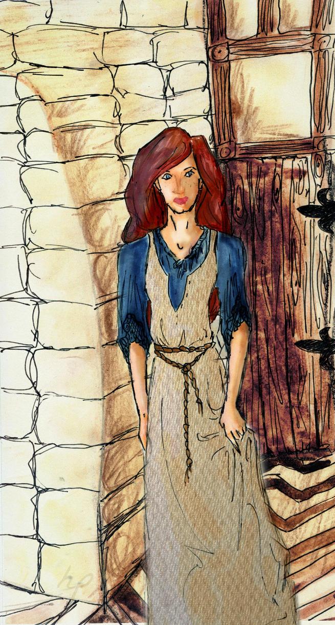 Annette Chevron Hallway by SkippyRulesTheWorld