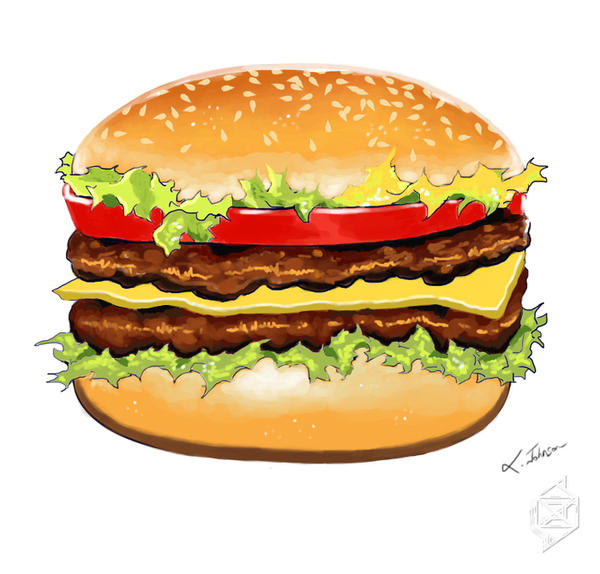 Burger by Johnson-X