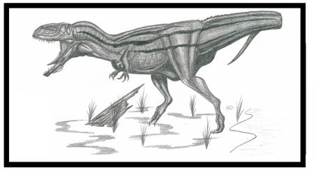 Mapusaurus roseae by Kevcatalan