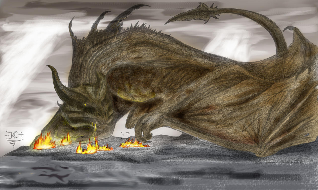 Reign of Fire Male Dragon Drawing Reign of Fire Male Dragon