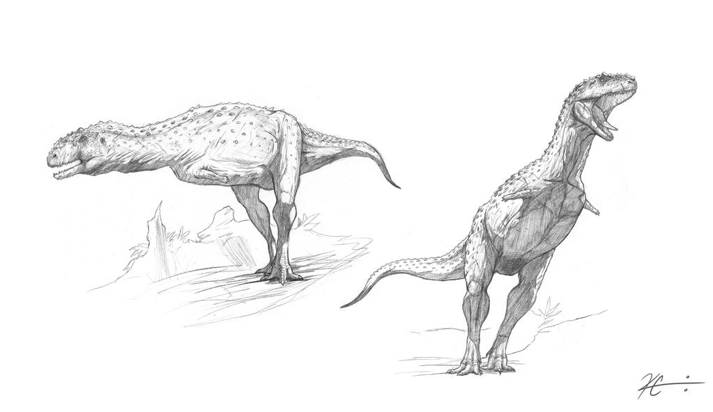 Majungasaurus by Kevin-Studios