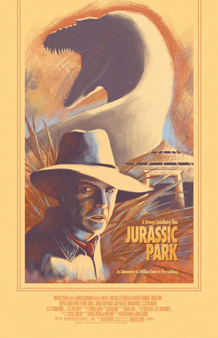 Jurassic Park Poster by Kevin-Studios
