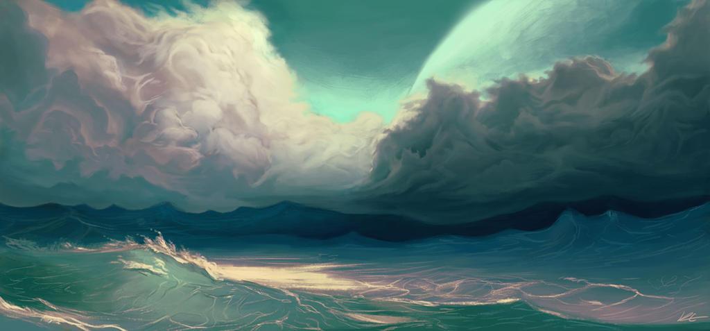 Alien Sea by Kevin-Studios