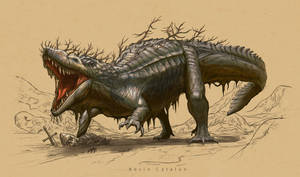 Lizard Lion - Beasts of Ice and Fire by Kevcatalan
