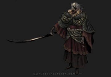 Sekiro fan Creature Design by Kevcatalan
