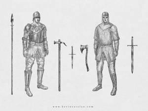 Raendor Soldiers
