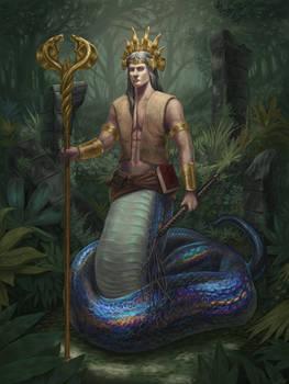 Aghari the Naga
