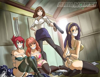 Kimmy in Rail Wars by MisterEye
