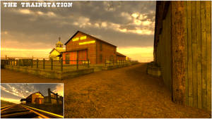 Stay on the Track - The Trainstation 01