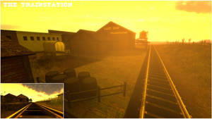 Stay on the Track - The Trainstation 02
